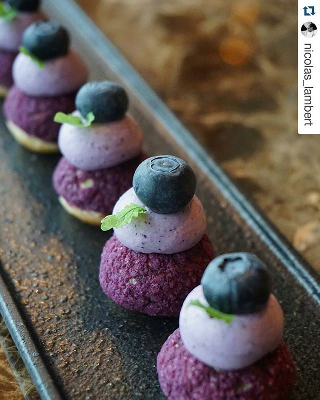 "#Repost @nicolas_lambert with @repostapp ・・・ Blueberry Puffs ""Dedicated to my…"