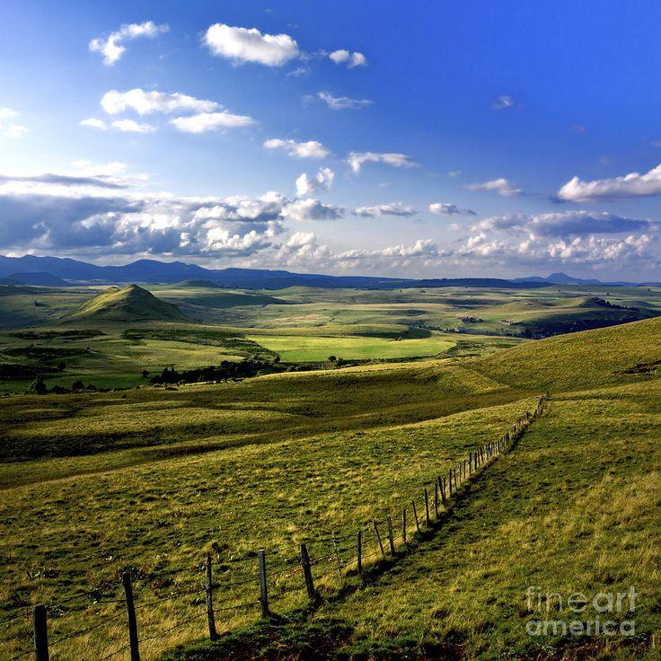 ✮ Landscape of Cezallier - Auvergne, France