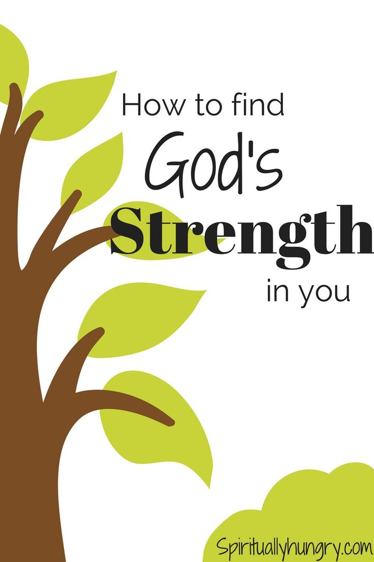 Strength of God | Strength in God | Strength of Christ