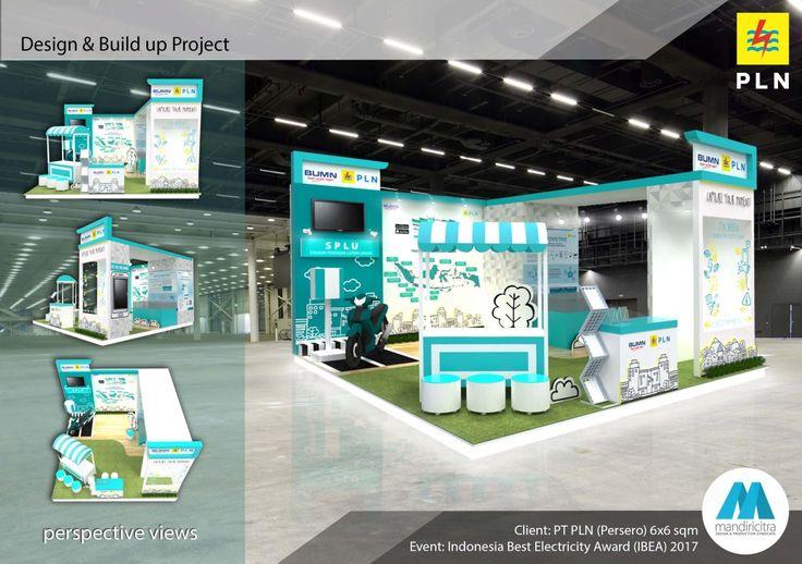 Desain Stand PameranKelistrikan dan Indonesia Best Electricity Award