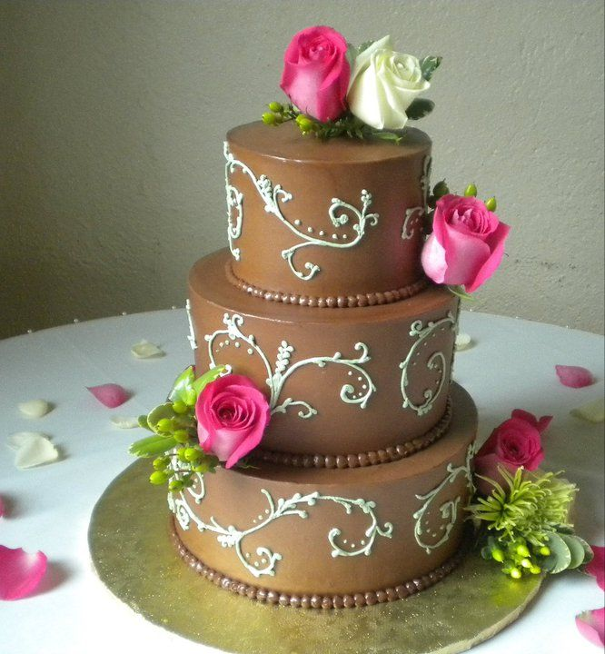 13 Best Rose Cakes Images On Pinterest