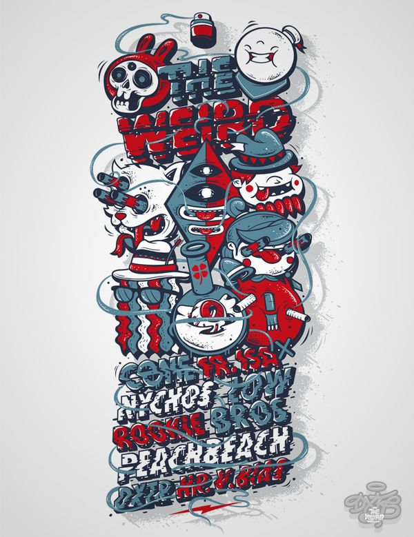 DXTR - Various Illustrations 2011 on the Behance Network