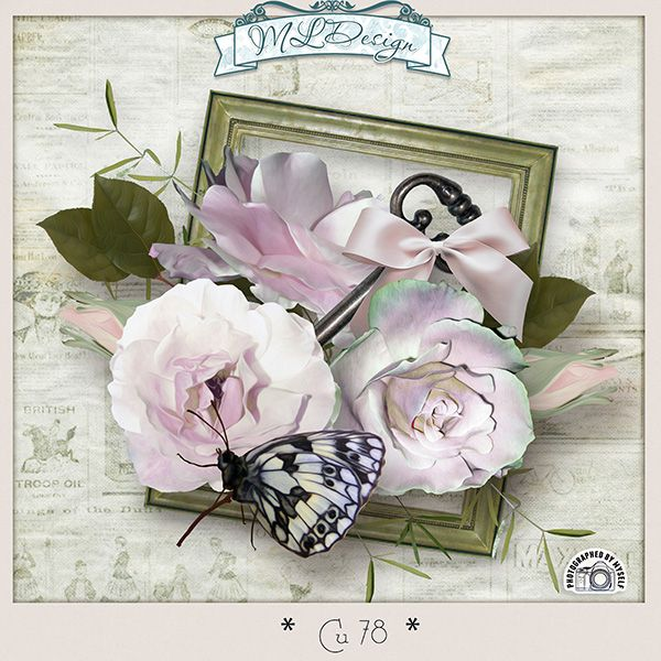 CU set 78 Mix elements vintage by MLDesigns