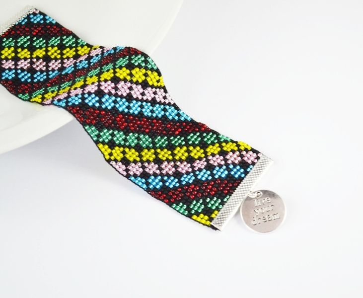 Kolorowa Mozaika Bransoletka