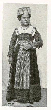 Abruzzo folk costume