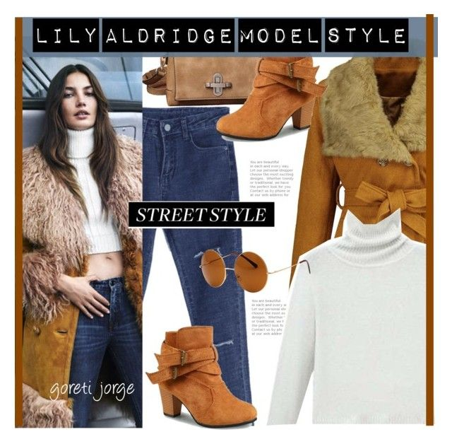"""""""Lily Aldridge Street style"""" by goreti ❤ liked on Polyvore featuring SW Global"""
