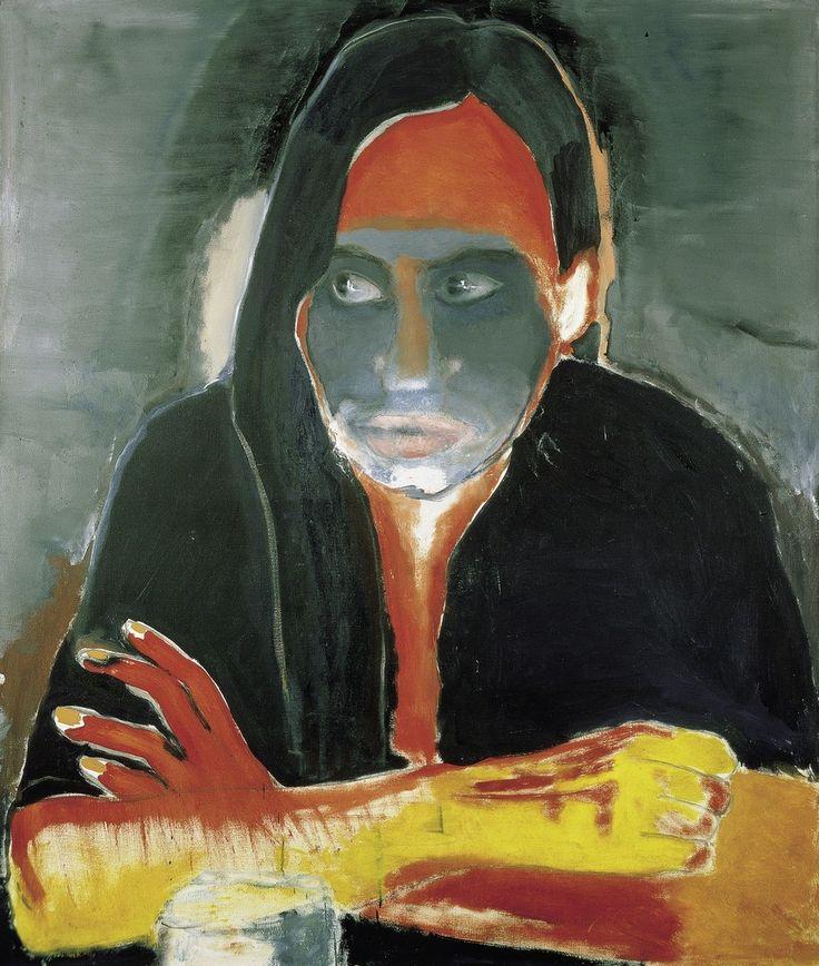 Marlene Dumas, Genetiese Heimwee / Genetic Longing, 1984, Fondation Beyeler