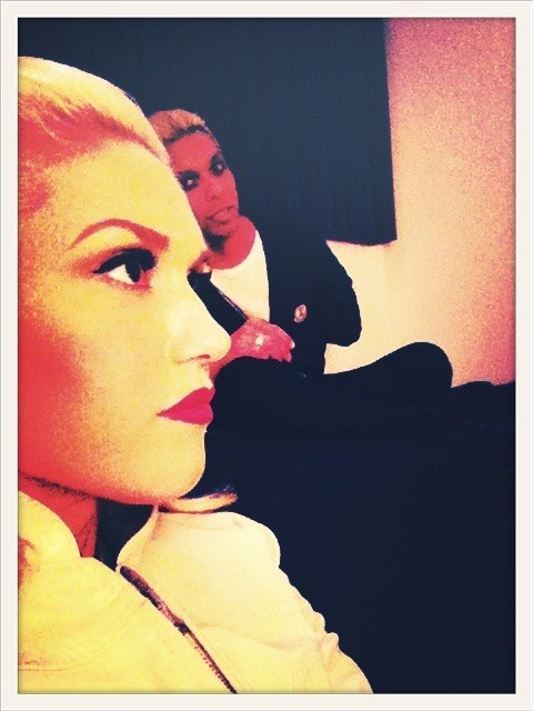 i need to start saving my money for the tour. Gwen Stefani and Tony Kanal of No Doubt