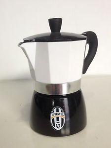 Caffettiera JUVENTUS prodotto ufficiale 3 tazze Tognana idea regalo COOFEE STAR | eBay