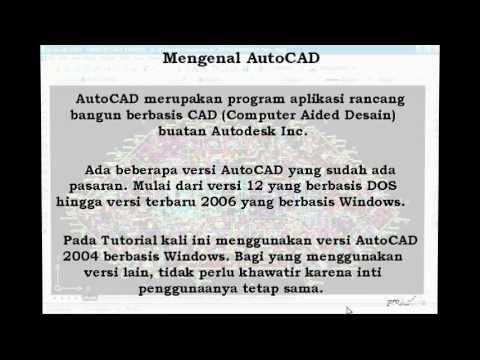 Belajar AutoCAD untuk pemula yang di khususkan untuk anda yang belum bisa mengoperasikan autoCAD. banyak sekali manfaat yang dapat anda dapatkan kalau dapat ...