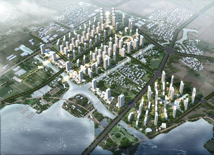 Shaoxing Housing Masterplan, China Rocco