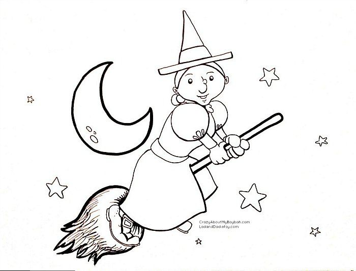 Halloween Coloring Sheets for Kids
