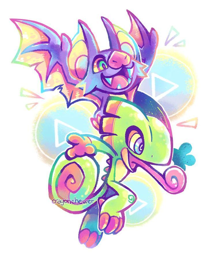 Yooka-Laylee by crayon-chewer on DeviantArt