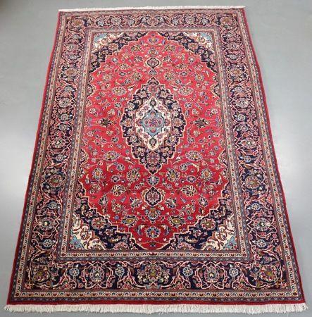 Kashan Persian Rug (Ref 123) 309x210cm - PersianRugs.com.au