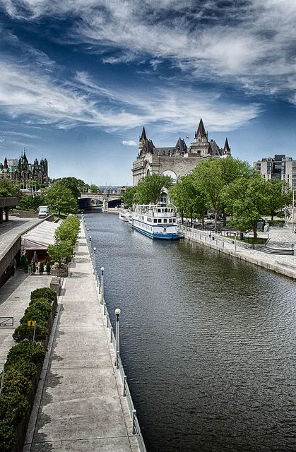 rideau canal places spaces pinterest canada photos and ottawa. Black Bedroom Furniture Sets. Home Design Ideas