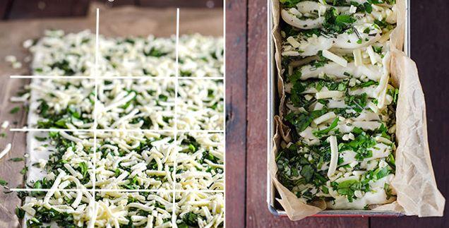 Franciskas Vakre Verden | Fantastisk godt hvitløksbrød med ost og urter!