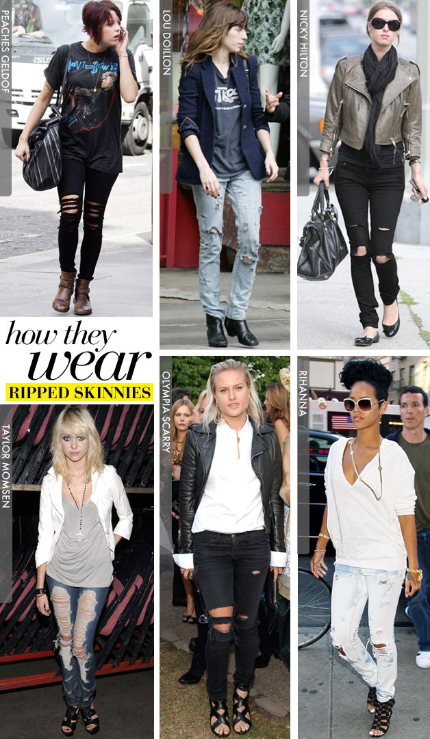 74 best Skinny Jeans images on Pinterest | Ripped skinny jeans ...
