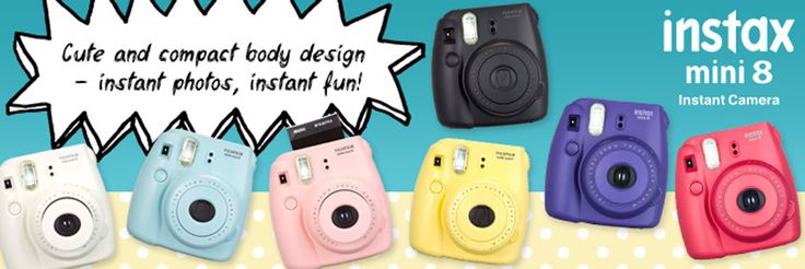 #instaxwishlist - Instax Mini 8 The best colourful sidekick