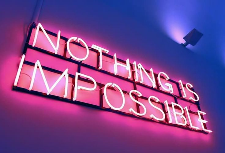 #nothing#is#impossibile#if#you#make#it#possible discovered by Lou.XXX✌❄