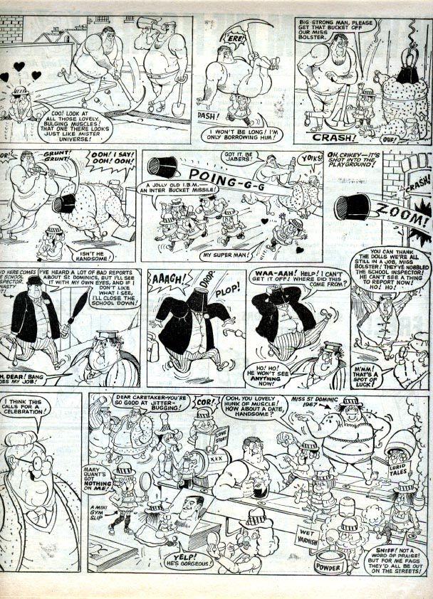 leo comic strip