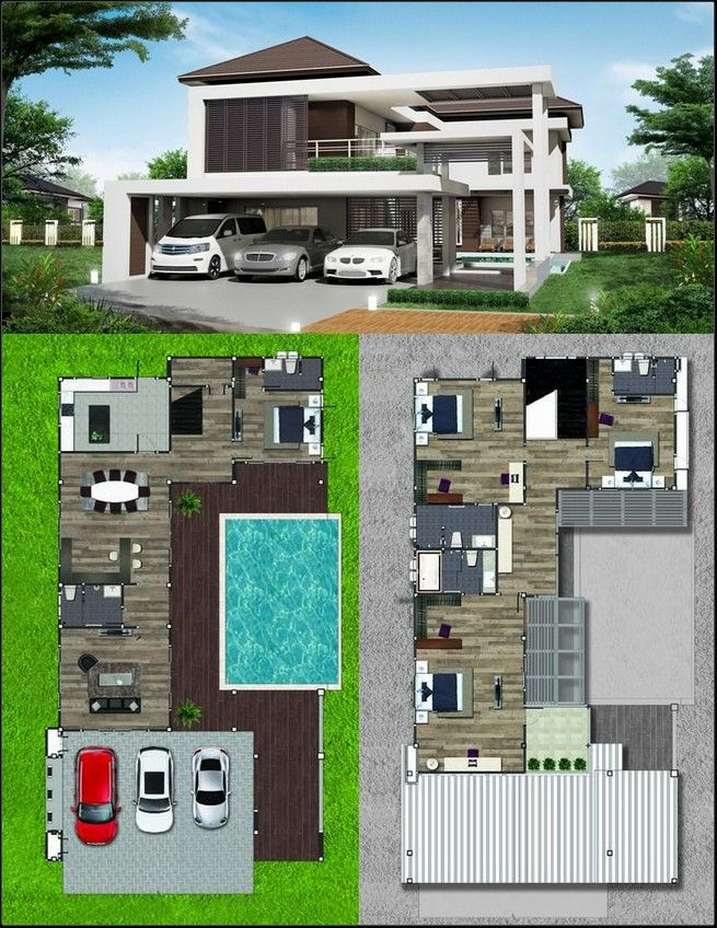 44 Fashionable Home Designs Siding That Looks Philippines House Design Pool House Plans Two Story House Design
