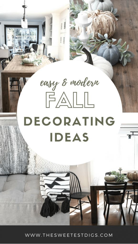 Get The Look Modern Fall Decorating Ideas Modern Fall Decor Home Decor Styles Fall Home Decor