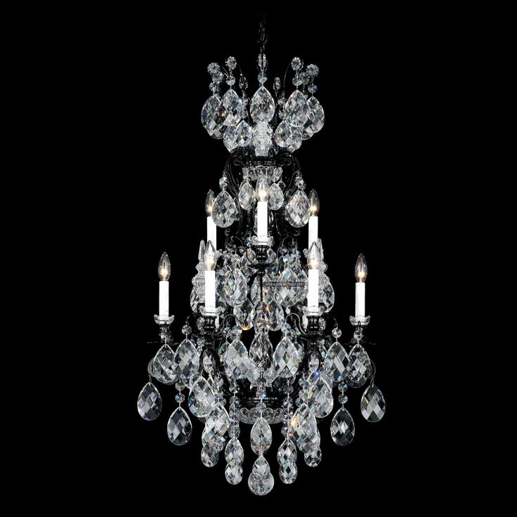 A Crystal Chandelier Inspired By The Magnificent Baroque Chandeliers Commissioned Louis Xiv In Seventh Century Heritage Handcut French