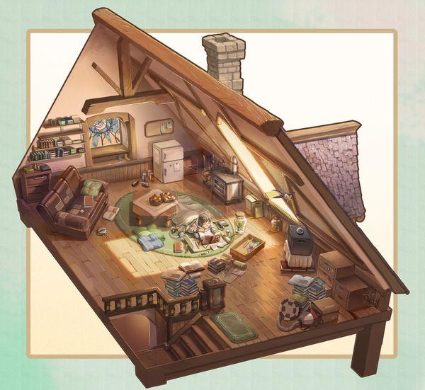 屋根裏基地/yuzoon
