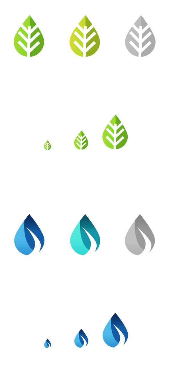 Proceso de isotipo para Fundaeco Guatemala by Flavio Pivaral, via @Behance #logo #design #process