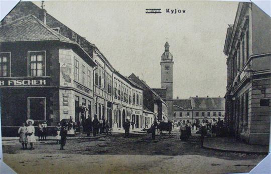 Ulice Svatoborská, kolem roku 1900