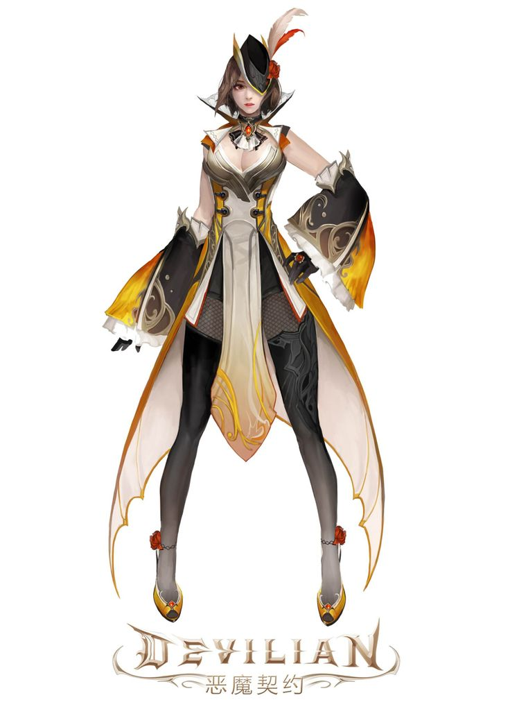 Character Design Game Anime : Devilian character pinterest characters