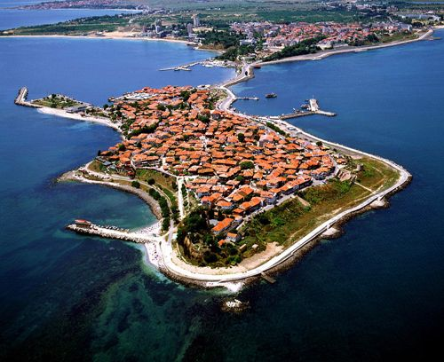 Nessebar – Bulgaria; beautiful Sunny Beach!!  Have been here.... can't wait to go back. :)