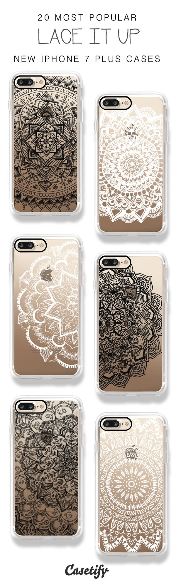 Girls, lace it up! 20 Most Popular iPhone 7 / iPhone 7 Plus Phone Cases here > https://www.casetify.com/artworks/gIn5OzKWpq