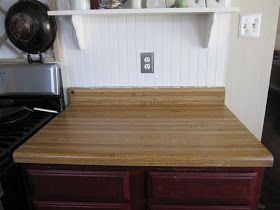 17 best images about diy kitchen remodel on pinterest diy butcher block countertops allen - Diy faux butcher block countertops ...