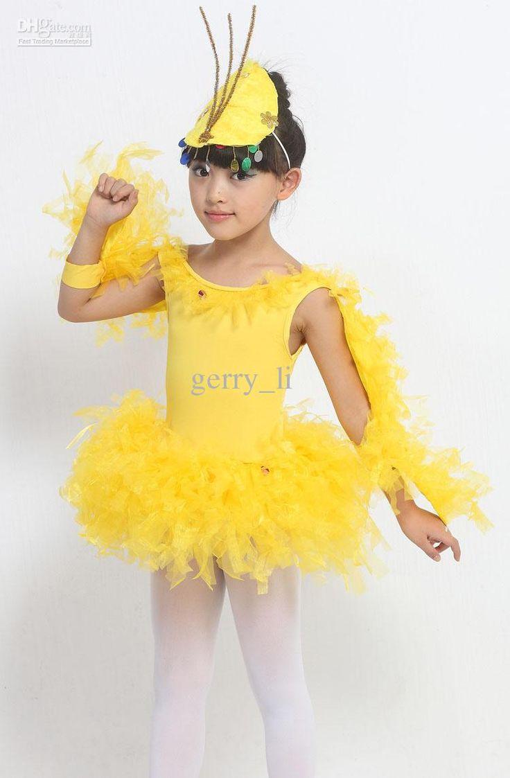 Children Show Suit The Chicken Dance Costumes For Children