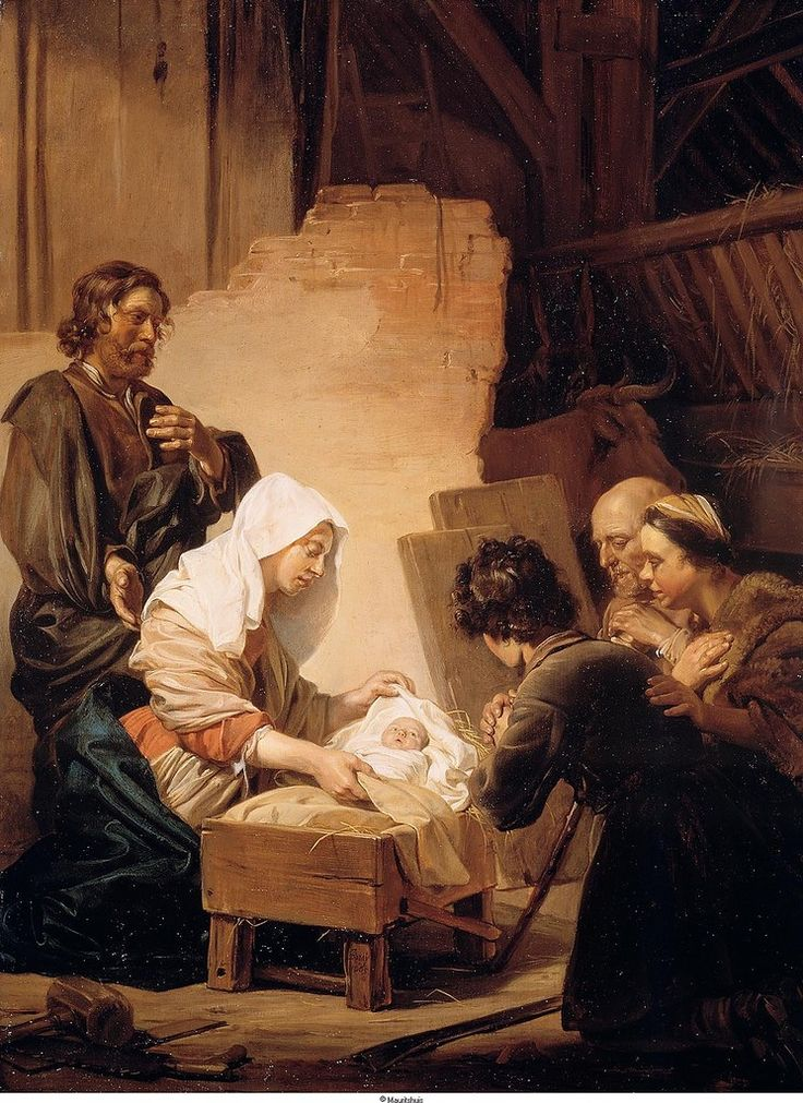 Bray, Jan de - Поклонение пастухов, 1665, 63 cm x 48 cm, Дерево, масло Маурицхёйс, Гаага