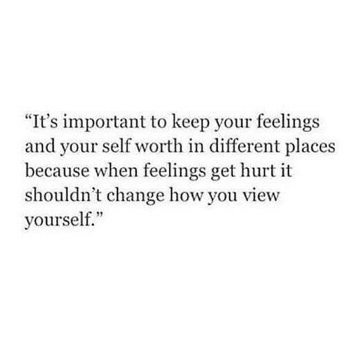 keep your feelings safe
