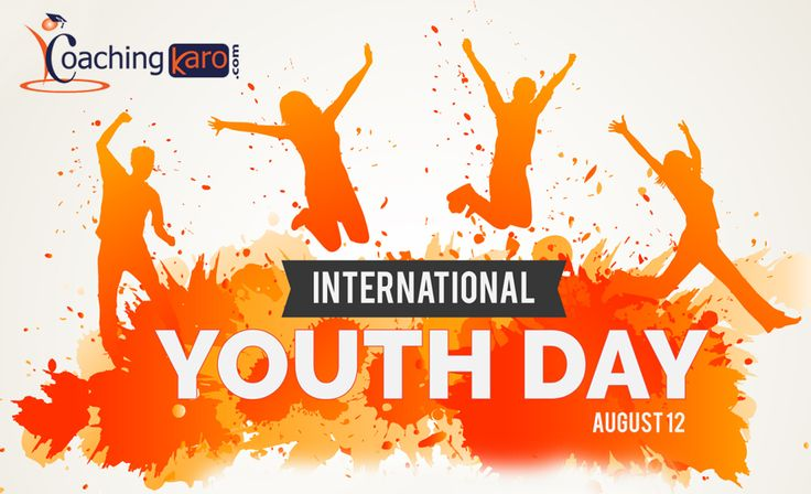 Happy International Youth Day! I wish all youth transfer youth power to make the nation progressive.
