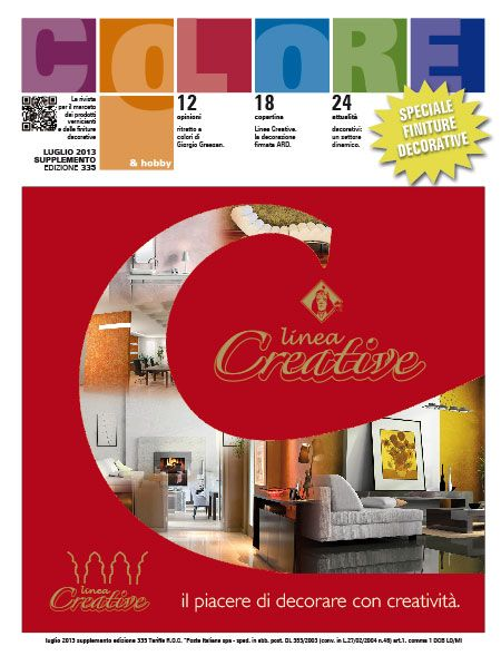 Colore & Hobby - Ed 335 supp. Speciale Finiture Decorative