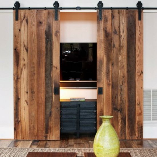 44 best Cacher sa TV dans un meuble images on Pinterest Bedroom - meuble tv home cinema integre watts