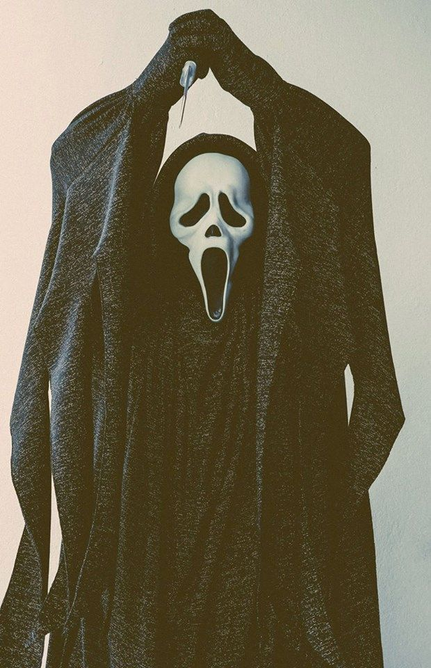 """You hang up on me and I'll cut through your neck until I feel bone."" ~ Ghostface // Scream"