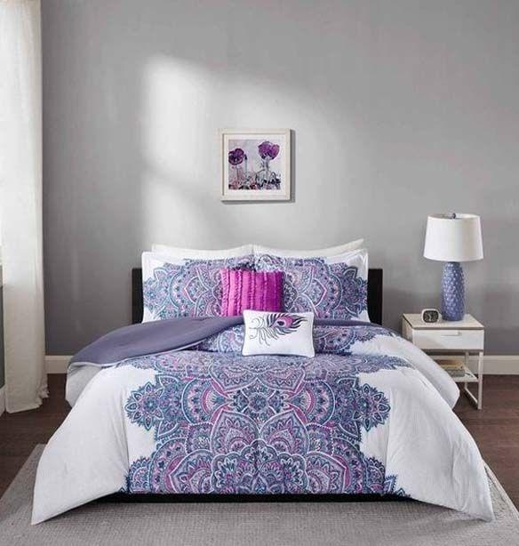 Bedroom Ceiling Decoration Ideas Black Teenage Bedroom Simple Bedroom Sets Bedroom Duvet Sets: Best 25+ Purple Comforter Ideas On Pinterest