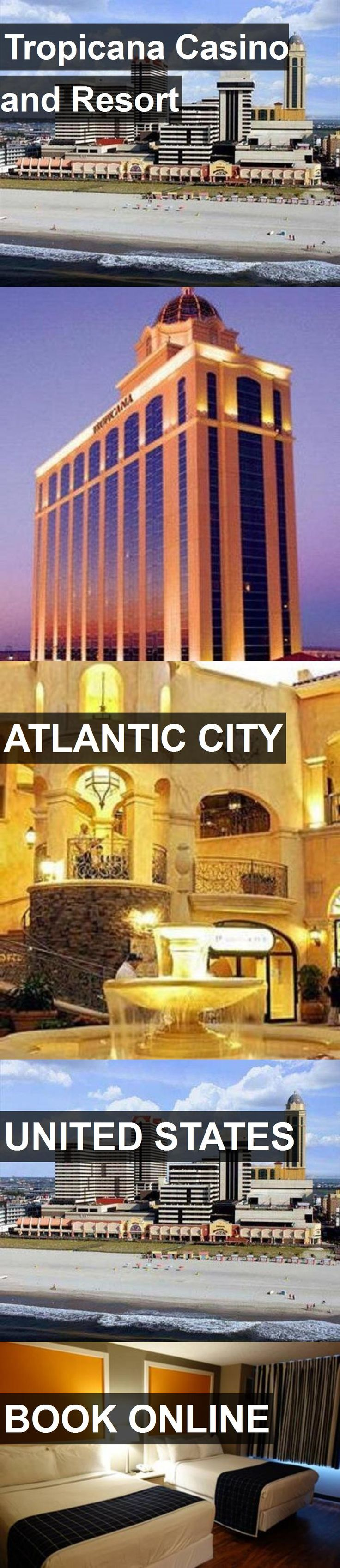 Hotel Tropicana Casino and Resort in Atlantic City, United States. For more information, photos, reviews and best prices please follow the link. #UnitedStates #AtlanticCity #travel #vacation #hotel