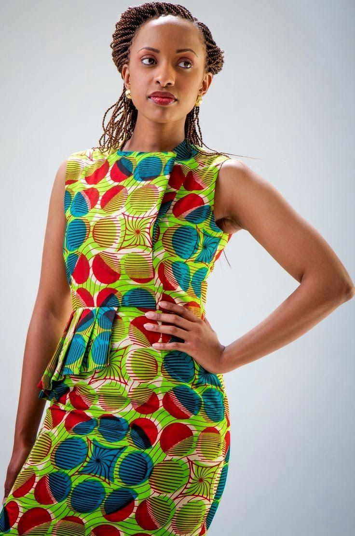 Fitting Kitenge Dresses Designs Best Dresses 2019