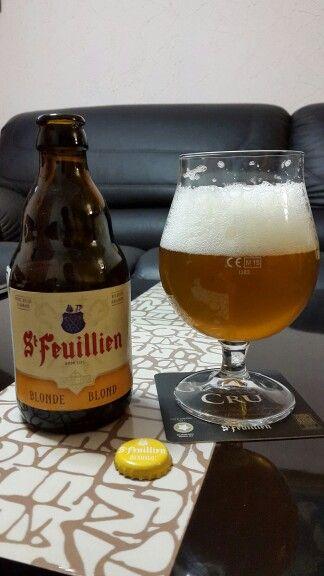 Blonde Ale de la cerveceria belga St. Feuillien.