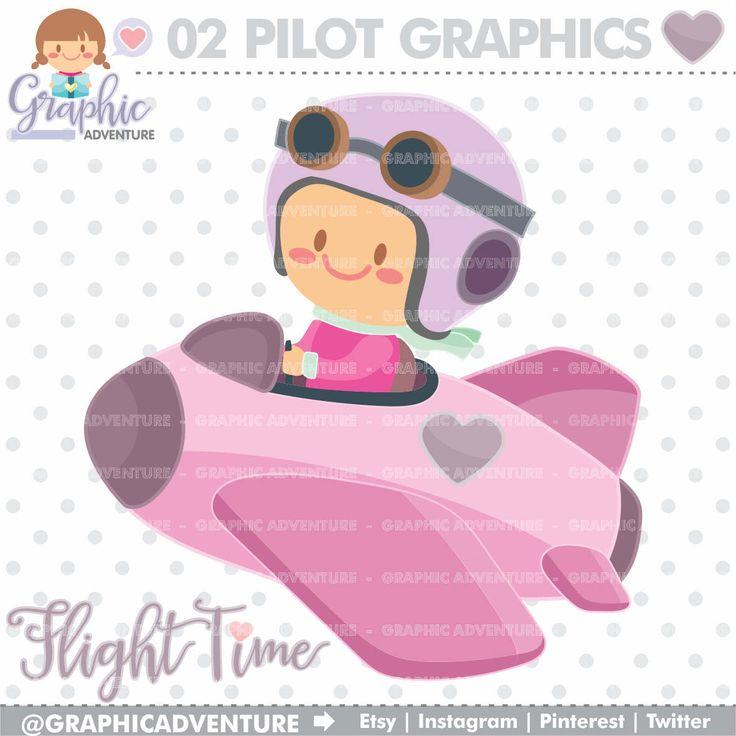 75%OFF - Pilot Clipart, Pilot Graphics, Clip Art, COMMERCIAL USE, Airplane Pilot, Pilot Party Clipart, Kawaii Clipart, Kids Clipart, Clipart