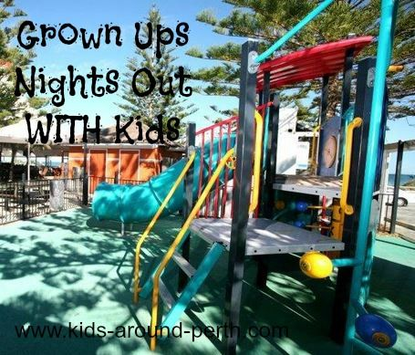Grown Ups Nights Out in Perth WITH Kids - enjoy live music, your favourite game on the big screen, while the kids are entertained!
