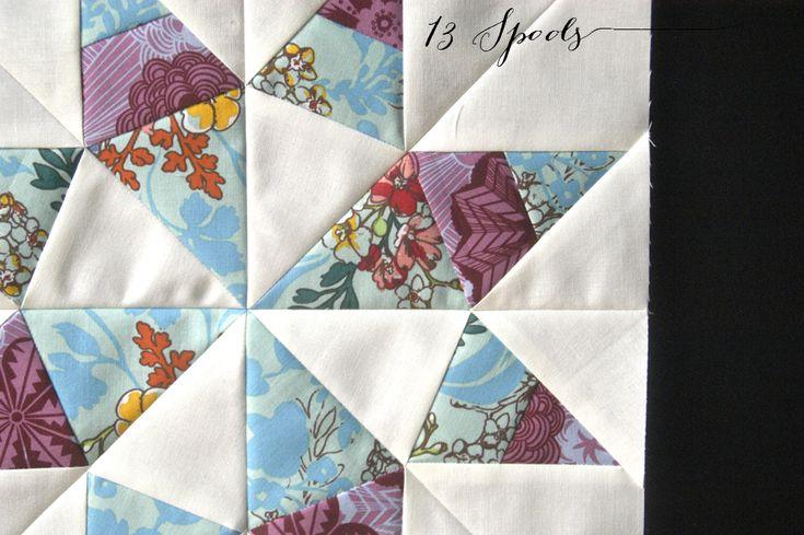 Texas Star Quilt Block - Free Paper Piecing Pattern