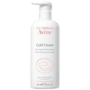 Cold Cream d'AVENE, Lait Corporel Nourrissant, 400ml - A découvrir sur PowerSanté, la parapharmacie en ligne avec Top Santé.