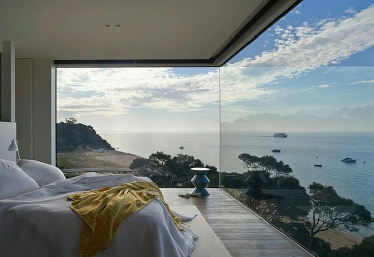 It doesn't get better than this..... wow..... insane bedroom view